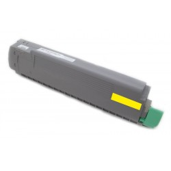 Toner Oki 43487709 žlutý (yellow) 9000 stran kompatibilní - Oki C8600, C8600N, C8800, C8800N, C8800DN