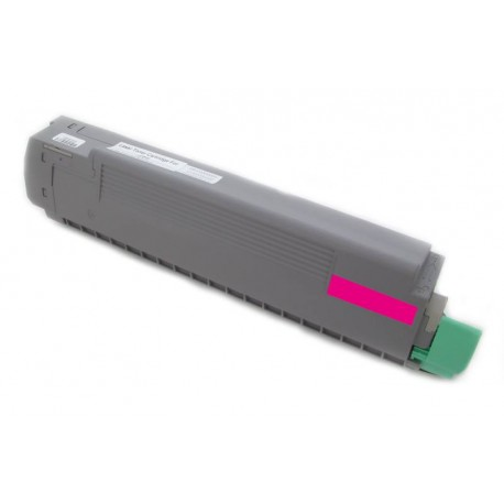Toner Oki 43487710 červený (magenta) 9000 stran kompatibilní - Oki C8600, C8600N, C8800, C8800N, C8800DN
