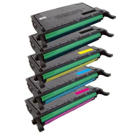 5x Toner SAMSUNG CLT-6092S (K6092S, K6092, Y6092S, M6092S, C6092S) - C/M/Y/K kompatibilní - CLP-770, CLP-770ND, CLP-775, CLP-775