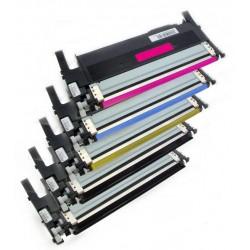 5x Toner Samsung CLT-406S (CLT-P406S, K406S, Y406S, M406S, C406M) (C/M/Y/2x K) kompatibilní - CLP-360 / CLP-365 / CLX-3300
