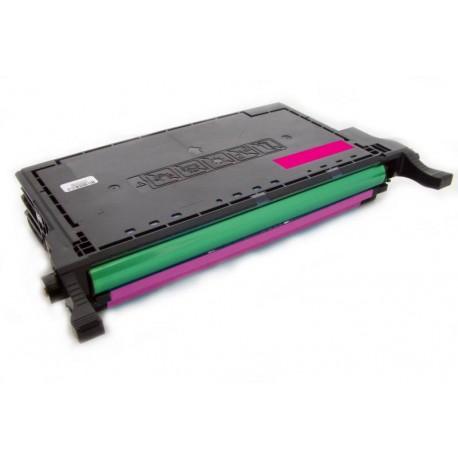 Toner Samsung CLP-M660B (M660) červený (magenta) 5000 stran kompatibilní - CLP-605, CLP-610, CLP-615, CLX-6200, CLX-6210