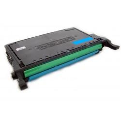 Toner Samsung CLP-C660B (C660) modrý (cyan) 5000 stran kompatibilní - CLP-605, CLP-610, CLP-615, CLX-6200, CLX-6210