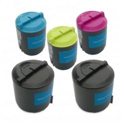 5x Toner SAMSUNG CLT-P300S (K300A, Y300A, M300A, C300A) - C/M/Y/2x K kompatibilní - CLP-300, CLX-2160, CLX-3130, CLX-3160
