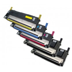 5x Toner SAMSUNG CLT-P4072S (4072, K4072S, M4072S, Y4072, C4072S, P4072) - C/M/Y/2xK kompatibilní - CLP-320, CLP-325, CLX-3185