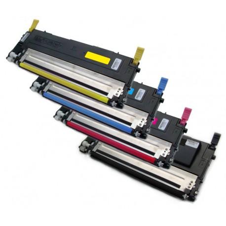4x Toner SAMSUNG CLT-P4072S (4072, K4072S, M4072, Y4072S, C4072, P4072) - C/M/Y/K kompatibilní - CLP-320, CLP-325, CLX-3185