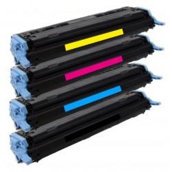 4x Toner HP Q6000A, Q6001A, Q6002A, Q6003A LaserJet 1600, 2600, 2605, CM-1015, CM-1017 - C/M/Y/K kompatibilní