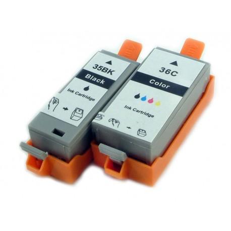 Sada Canon PGI-35 / CLI-36 (PGI35, CLI36) - kompatibilní inkoustové náplně (cartridge) pro Canon Pixma iP100, iP110