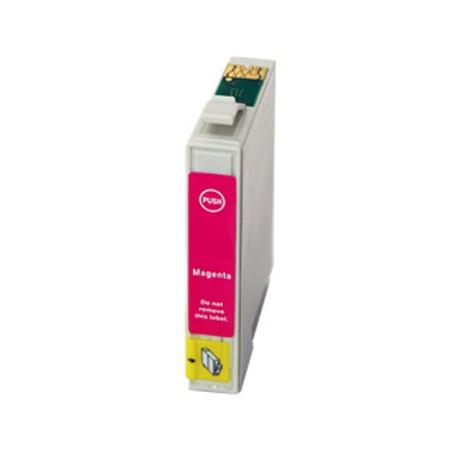 Cartridge Epson T0443 červená (magenta) - kompatibilní inkoustová náplň - Epson Stylus CX6400, Epson C86, C66, CX4600
