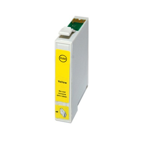 Cartridge Epson T0444 žlutá (yellow) - kompatibilní inkoustová náplň - Epson Stylus CX6400, Epson C86, C66, CX4600