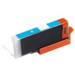 Canon CLI-571C modrá (cyan) (CLI-571, CLI-571XL C, PGI-570) MG5750, MG6850, MG7750 kompatibilní inkoustová náplň (cartridge)