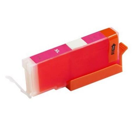 Canon CLI-571M červená (magenta) (CLI-571, CLI-571XL M, PGI-570) MG5750, MG6850, MG7750 kompatib. inkoustová náplň (cartridge)