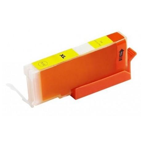 Canon CLI-571Y žlutá (yellow) (CLI-571, CLI-571XL Y, PGI-570) MG5750, MG6850, MG7750 kompatibilní inkoustová náplň (cartridge)