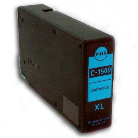 Canon PGI-1500XL C modrá (cyan) (PGI-1500C, 9193B001) kompatibilní inkoustová náplň (cartridge) pro MAXIFY MB2050, MB2350