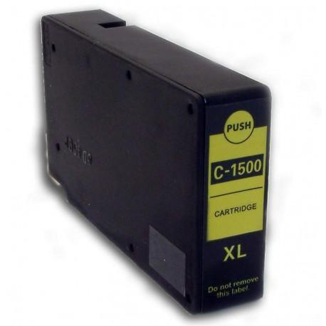 Canon PGI-1500XL Y žlutá (yellow) (PGI-1500Y, 9195B001) kompatibilní inkoustová náplň (cartridge) pro MAXIFY MB2050, MB2350
