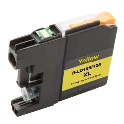 Cartridge Brother LC-125Y (LC-125, LC-127) žlutá (yellow) - kompatibilní inkoustová náplň (cartridge)