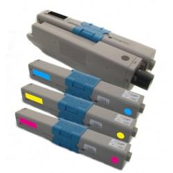 4x Toner Oki C510 44469804, 44469724, 44469723, 44469722  - C/M/Y/K kompatibilní - Oki C510, C510DN, C511DN, MC561, MC562DN