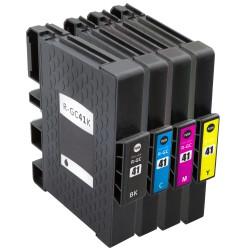 Sada Ricoh GC-31 (GC31, GC31K, 405701, 405702, 405703, 405704) - GX e 3300N, GX e 3350 N - kompatibilní inkoustové náplně