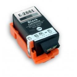 Cartridge Epson T2661 (C13T26614010) černá (black) - kompatibilní inkoustová náplň pro Epson WorkForce WF-100W