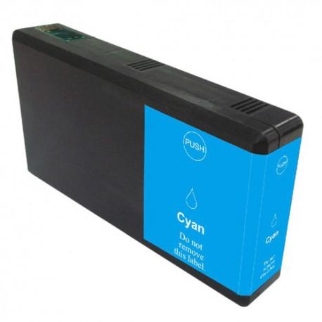 Cartridge Epson T7902 (C13T79024010, 79XL) modrá (cyan) kompatibilní inkoustová náplň - WorkForce Pro WF-4640DTWF, WF-5620