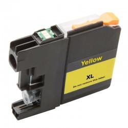 Cartridge Brother LC-525XLY (LC-525Y, LC-525) žlutá (yellow) - kompatibilní inkoustová náplň (cartridge)