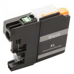 Cartridge Brother LC-529XLBk (LC-529Bk, LC-529, LC-525) černá (black) - kompatibilní inkoustová náplň (cartridge)