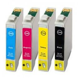 Sada 4ks Epson T1285 (T1281, T1282, T1283, T1284) Epson Stylus - kompatibilní inkoustové náplně (cartridge)- Epson