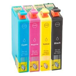 Sada 4ks Epson T1816 (T1811, T1812, T1813, T1814, T1815) Expression Home - komp. inkoustové náplně (cartridge) - XP-305, XP-205