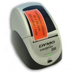 Etikety / Štítky Dymo Labelwriter 89x36mm , 99012, S0722400 červené, 260ks kompatibilní