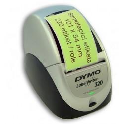 Etikety / Štítky Dymo Labelwriter 101x54mm zelené, 99014, S0722430 - přepravní, 220ks kompatibilní