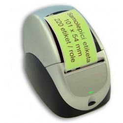 Etikety / Štítky Seiko SLP Label 54x101mm zelené, SLP-SRL, SLP-RSRL, 220ks - kompatibilní