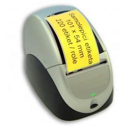 Etikety / Štítky Seiko SLP Label 54x101mm žluté, SLP-SRL, SLP-RSRL, 220ks - kompatibilní