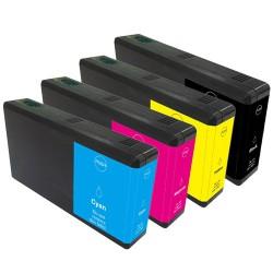 Sada 4ks Epson T7015 (T7011, T7012, T7013, T7014) Workforce Pro - kompatibilní inkoustové náplně (cartridge) WP-4525, WP-4015