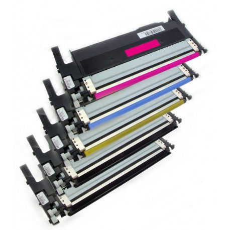 5x Toner Samsung CLT-404S (CLT-P404C, K404S, Y404S, M404S, C404M) (C/M/Y/2K) kompatibilní - Xpress C430W, C480,  C480FN, C480FW