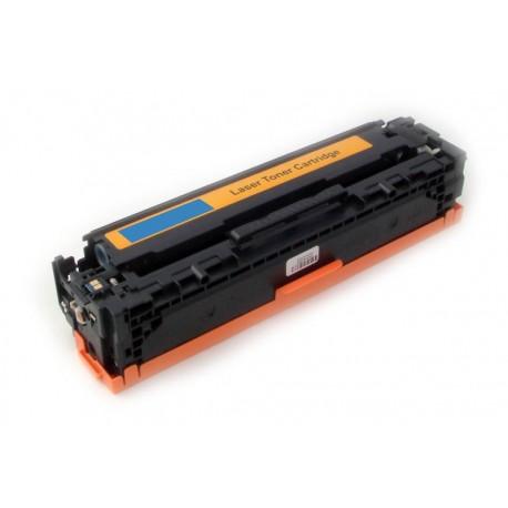 Toner HP CF401X (CF401A, 201A, 201X) modrý (cyan) 2300 stran kompatibilní - Color LaserJet Pro M252dw, M252n, M277dw, M277n MFP
