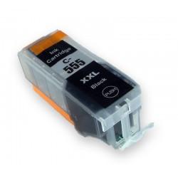 Canon PGI-555XXL černá (black) (PGI-550XL,PGI-550BK, CLI551) kompatibilní inkoustová náplň (cartridge)