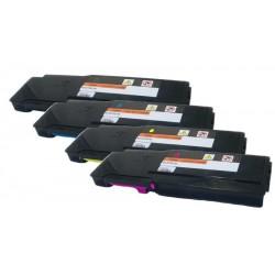Sada 4x toner pro Xerox Phaser 6600, Workcentre 6605 (106R02236, 106R02233, 106R02234, 106R02235) kompatibilní
