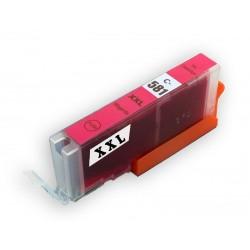 Canon CLI-581XXL M (CLI-581XL M, CLI-581M, CLI-581) červená (magenta) - kompatibilní inkoustová náplň (cartridge PGI-580)
