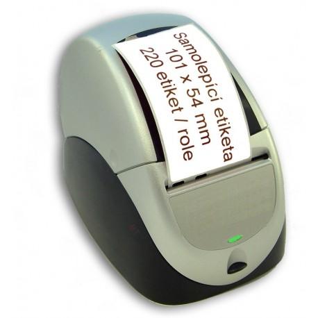 Etikety / Štítky Seiko SLP Label 54x101mm, SLP-SRL, SLP-RSRL, přepravní, 220ks - kompatibilní