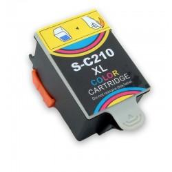 Inkoustová cartridge Ink-C210 barevná kompatibilní pro Samsung - CJX-1000 / CJX-1050 / CJX-2000