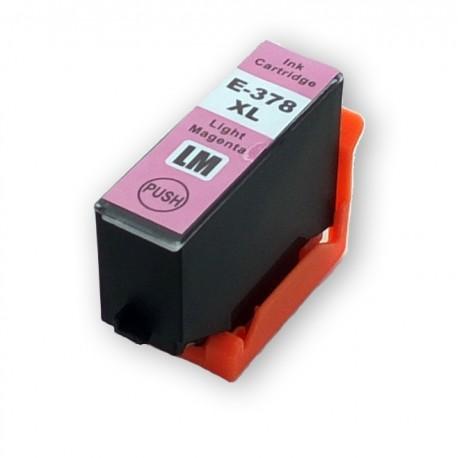 Cartridge T3796 378XL (T3786) světle červená (light magenta) kompatibilní inkoustová náplň pro Epson Expression Photo XP-8500