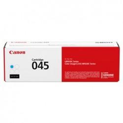Toner Canon CRG-045C ( 045C, CRG-045, CRG045C, 1241C002), modrý (cyan), originální, 1300str., LBP613Cdw, 611Cn, MFP635Cx, 633Cdw