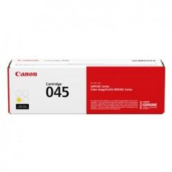 Canon originální toner 045Y (CRG-045, CRG045, CRG-045Y), yellow, 1300str., 1239C002, Canon LBP613Cdw, MFP635Cx, 633Cdw, 631Cn