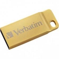 Verbatim USB flash disk, 3.0, 64GB, Store,N,Go Metal Executive, zlatý, 99106