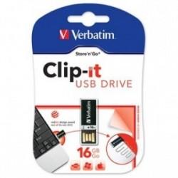 Verbatim USB flash disk, 16GB, Pin It, černý, 43951