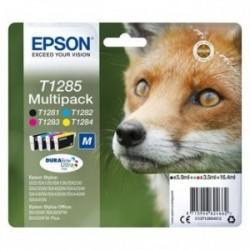 Epson originální ink C13T12854022, T1285 (T1281, T1282, T1283, T1284), blistr, Stylus S22, SX125, 420W, 425W, Office BX305