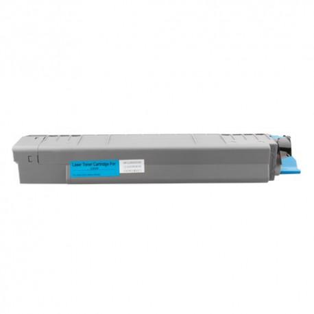 Toner Oki 44059107 modrý (cyan) 8000 stran kompatibilní - Oki C810, C810DN, C810N, C830, C830DN, C830N