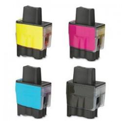 Sada 4ks Brother LC-900 / LC-950 - DCP-110,DCP-115,DCP-310,MFC-210,MFC-425,MFC-3240-kompatibilní inkoustové náplně (cartridge)