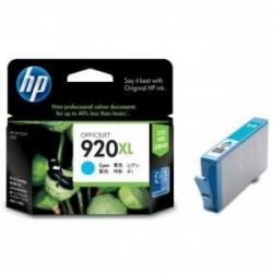 Inkoustová cartridge HP 920XL (CD972AE) originální, modrá (cyan), 700str., HP Officejet 6000, 6500, 7000