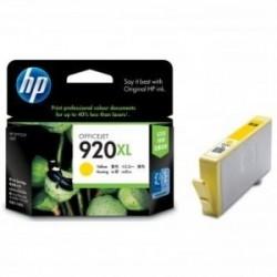 Inkoustová cartridge HP 920XL (CD974AE) originální, žlutá (yellow), 700str., HP Officejet 6000, 6500, 7000