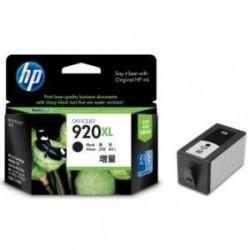 Inkoustová cartridge HP 920XL (CD975AE) originální,  černá (black), 1200str., blistr, HP Officejet 6000, 6500, 7000